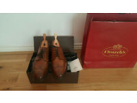 Mens Church's Size 8 shoes. Brand New Boxed with Shoetrees