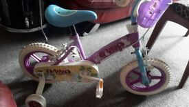 Frozen Anna kids bike like new