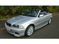 BMW 330CI MSPORTS CONVERTIBLE AUTOMATIC 2002 LOW MILEAGE