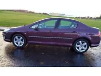 PEUGEOT 407 2.0 HDi 136 Executive 4dr ** 1 Yrs Mot & Serviced A Very High Spec Car ** (maroon) 2004