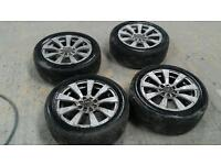 Wolfrace 4x 100 multi fit alloys