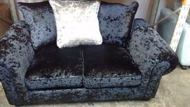 BRAND NEW crushed velvet 2 seater sofa!!