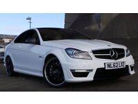 2012 62 MERCEDES-BENZ C CLASS 6.2 C63 AMG 2d AUTO 457 BHP***FINANCE AVAILABLE***