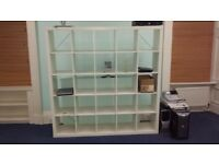 Shelves for Open Space Sitting Room or Office space.