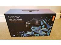 Lenovo explorer with motion controllers - NEW AND UNOPENED