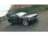 2003 BMW 5 Series 520i SE Automatic Full MOT E39 Black Auto Tiptronic 523i 525i 530i 520 i S Class