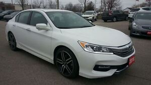 2016 Honda Accord Sport..JUST LIKE NEW...ONE OWNER...NOT A RENTA