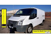 Ford Transit 2.2 350 M Low Roof Limited Panel Van 140BHP, Six Speed,1 Owner-S.History- 260 280 SWB