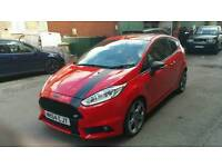 2014 FORD FIESTA ST-2 TURBO RED