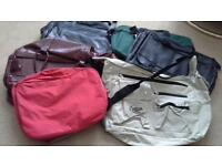 Assorted travel/weekend bags attic clear out.