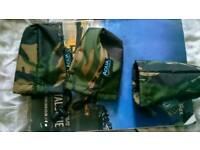 Aqua camo alarm pouch X 3 carp fishing