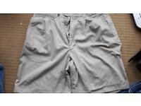 """Mens 34"""" stone shorts Nearly new Debenhams casual club"""