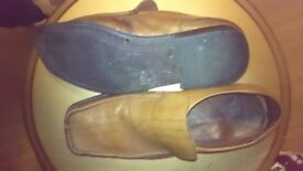 Leather shoes - size 10