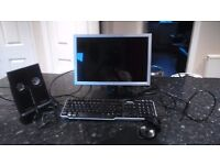 Dell 17 inch monitor, keyboard, mouse and speakers in good working condition. 30.00 only
