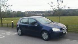 Volswagen golf 1.9 tdi 5dr hatchback one owner 8 services stamps