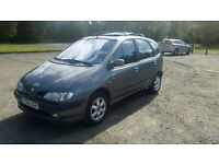 RENAULT SCENIC 1.6i RXT LEFT HAND DRIVE LHD UK REG ONE OWNER A/C LONG MOT