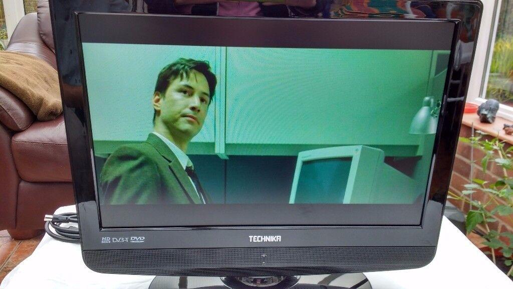 Technika Advanced LCD 19-208. 19inch HD Ready Digital LCD TV/DVD