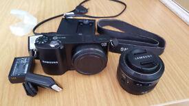 Mirrorless Samsung Nx 1000 Digital Camera