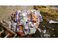 Fertilisers bags of Firewood