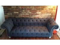 Chersterfield sofa for sale, as new condition, £600 OR BEST OFFER really need a quick sale!