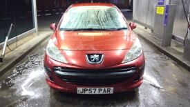 2007 57plate Peugeot 207 1.4 hdi 3door. Start and drive. Very cheap to run and £30 tax