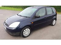 2002 FORD FIESTA 1.4 PETROL 5 DOOR 12 MONTHS MOT CLEAN TIDY CAR NEW TYRES HERE TO SELL !!!!