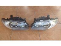 Left hand drive European type AHL curve headlights BMW E88 E81 E82 E87 1er 2005 - 2013 LHD BMW