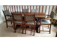 Farmhouse Table & 6 Chairs
