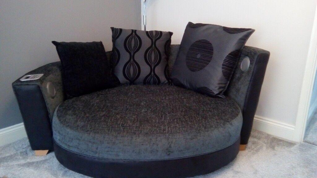 Leather Corner Sofa Second Hand