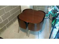 IKEA Fusion Compact, Space Saving Dining Table & Chairs