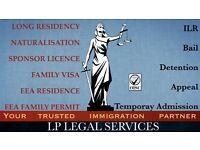 Immigration professionals. Visa service - Tier 2, Tier 1, ILR, EEA, FLR(O), Appeal, Bail, EEA PR