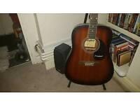 Acoustic Westfield guitar