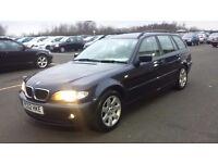 BMW 3 Series 2.0 318i SE Touring 5dr NEW MOT, FULL LEATHER 2002, Estate