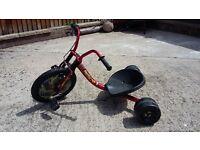 Kids Bike Scooter,Pedal Ride Drift Trike,Chopper Children's 60s,3 Wheels Go Kart