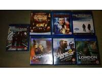 Blurays - Great condition, all boxed.