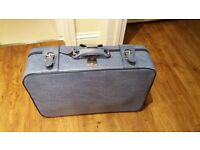 Vintage style suitcase
