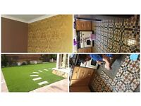 Garden service, Painting & Decoration, Paving & Driveway, plustering, Tilling & laminate flooring