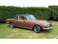 Classic car.Triumph stag