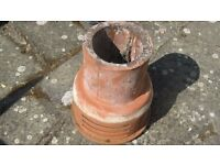 Used Terracotta Chimney Cowling