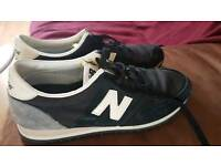 New balance size 4 black trainer