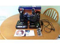 Saitek X52 Pro HOTAS Joystick - only used twice