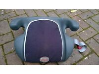 Britax car booster seat for young child