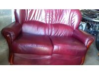 2 seater sofa and 2 single chairs