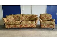 DURESTA RUSKIN LARGE SOFA / SUITE / SETTEE & MATCHING DURESTA ARMCHAIR / CHAIR DELIVERY AVAILABLE