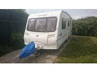 Bailey Pageant Champagne 2006 4 Berth Caravan with Awning