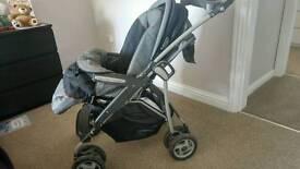 Mammas and papas pram/ buggy and car seat