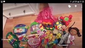 Girls bundle toys