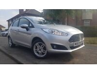 2013 '63' Reg Ford Fiesta 1.0 Petrol Manual Silver with 12 months MOT and £0 Road Tax