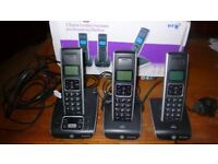 BT Synergy 5500 Cordless Phone, 3 Pack
