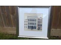 Venetian palace framed print